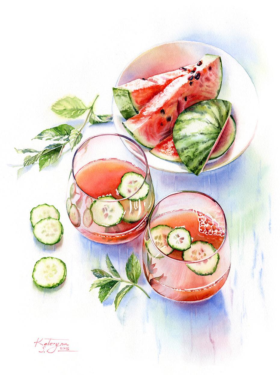 Watermelon drink copy